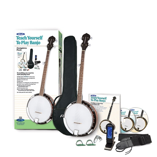 Alfred's Teach Yourself to Play Banjo, Complete Pack