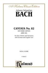 Cantata No. 82 -- Ich habe genüg