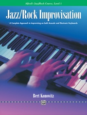 Alfred's Basic Jazz/Rock Course: Improvisation, Level 1