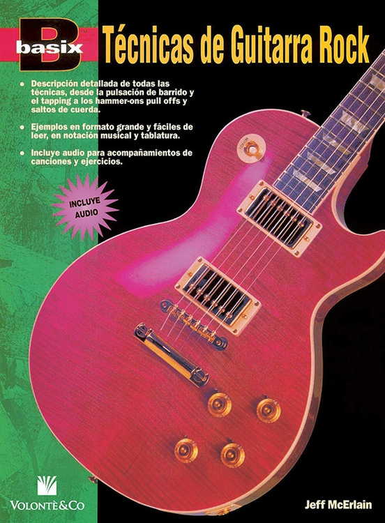 Basix®: Téchnicas de Guitarra Rock