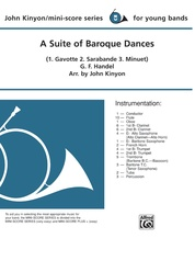 A Suite of Baroque Dances