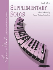 Supplementary Solos, Levels 3 & 4