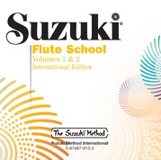 Suzuki Flute School CD, Volume 1 & 2 (Revised)