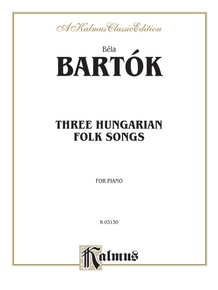 Three Hungarian Folksongs