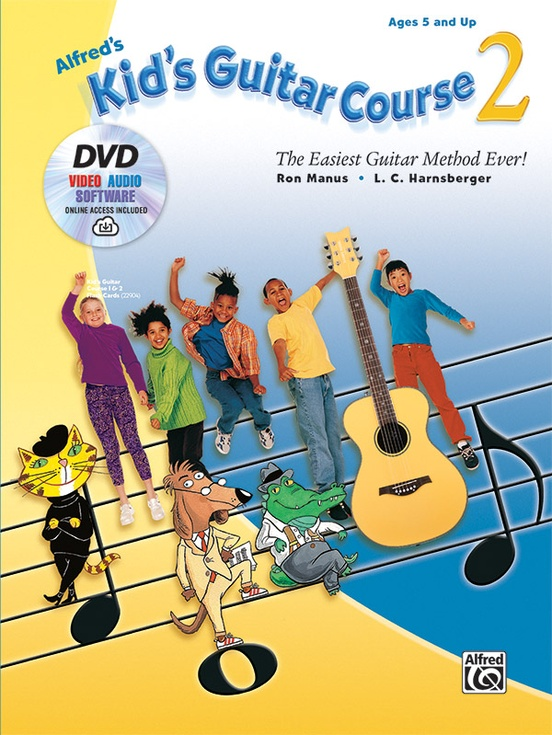 Alfred's Kid's Guitar Course 2