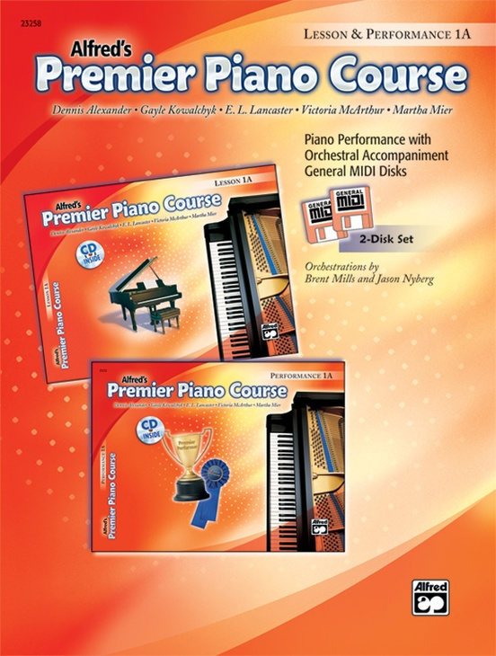 Premier Piano Course, GM Disk 1A for Lesson and Performance