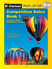 Competition Solos, Book 1 Clarinet