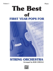 The Best of First Year Pops for String Orchestra, Volume 1