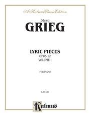Lyric Pieces, Opus 12
