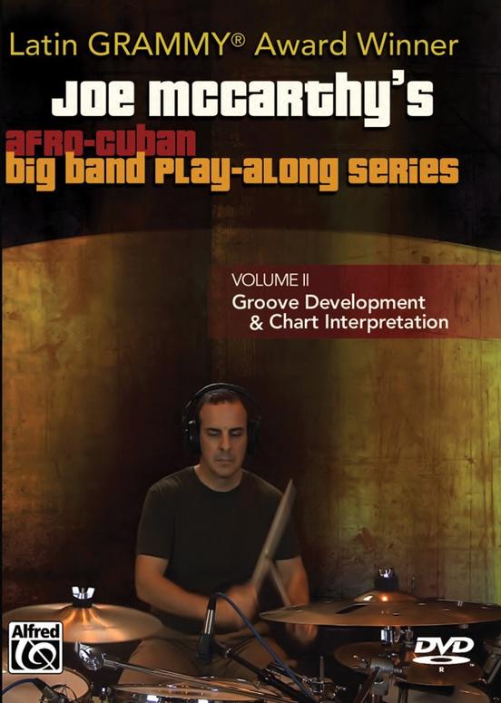 Joe McCarthy's Afro-Cuban Big Band Play-Along Series, Volume 2