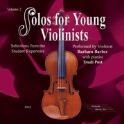 Solos for Young Violinists CD, Volume 2