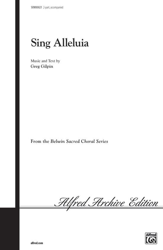 Sing Alleluia
