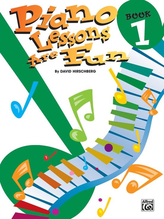 Piano Lessons Are Fun, Book 1