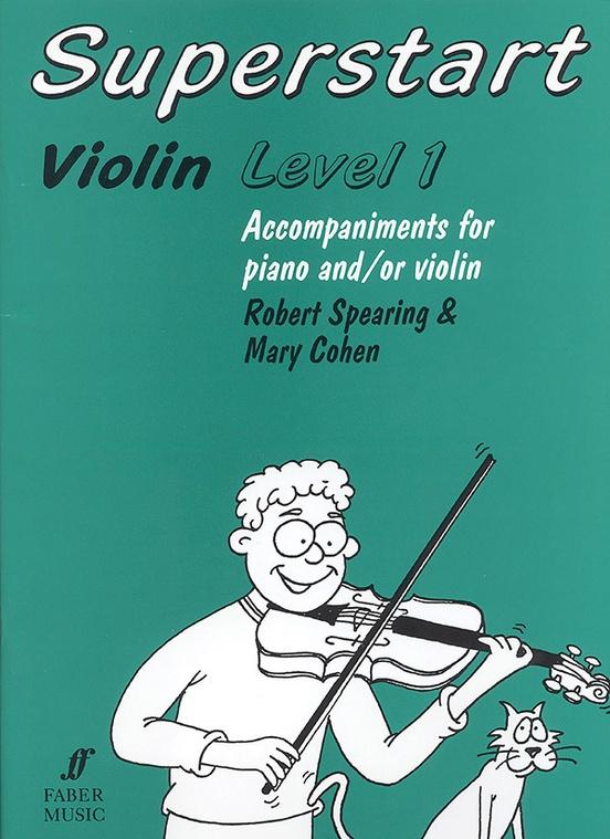 Superstart Violin, Level 1