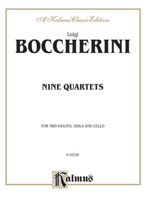 Nine Selected String Quartets