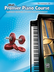 Premier Piano Course, Technique 2A