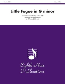 Little Fugue in G Minor