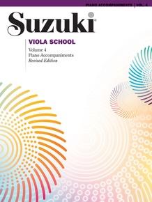 Suzuki Viola School Piano Acc., Volume 4 (Revised)