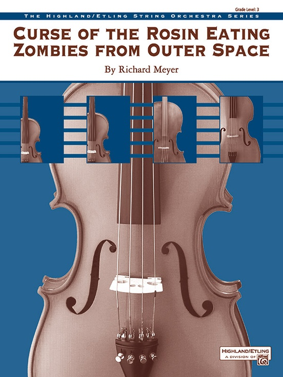 Curse of the Rosin Eating Zombies from Outer Space