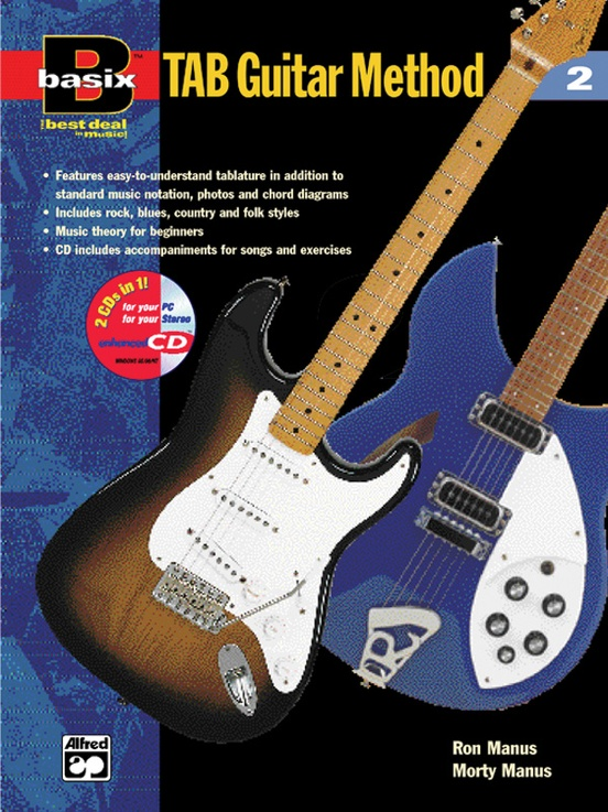 Basix®: TAB Guitar Method, Book 2