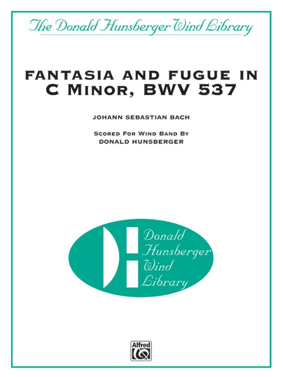 Fantasia and Fugue in C Minor, BWV 537