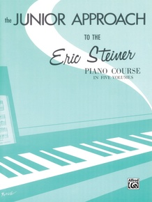 Eric Steiner Piano Course, Junior Approach
