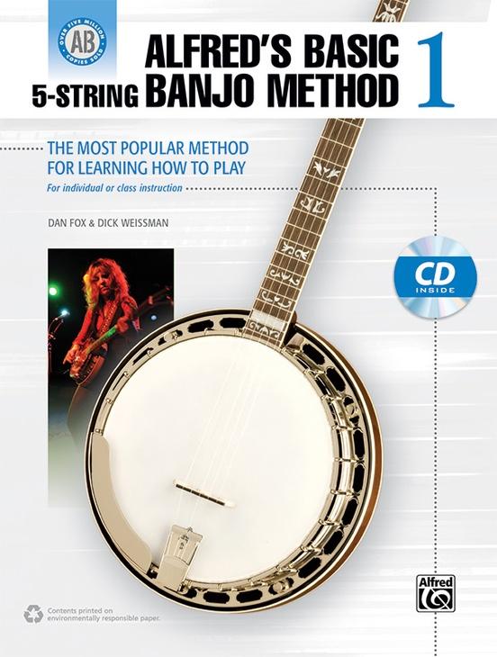 Alfred's Basic 5-String Banjo Method 1