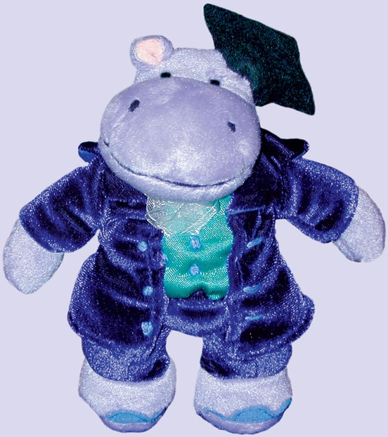 Music for Little Mozarts: Plush Toy -- Professor Haydn Hippo