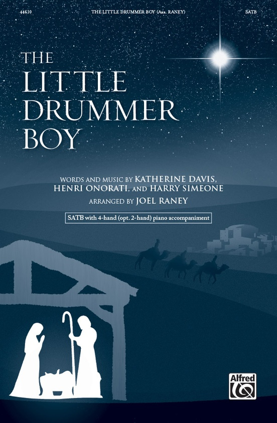 The Little Drummer Boy: SATB Choral Octavo: Harry Simeone