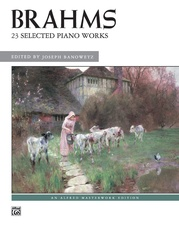 Brahms, 23 Selected Piano Works