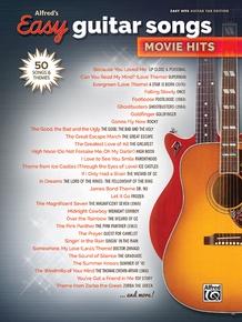 Alfred's Easy Guitar Songs: Movie Hits