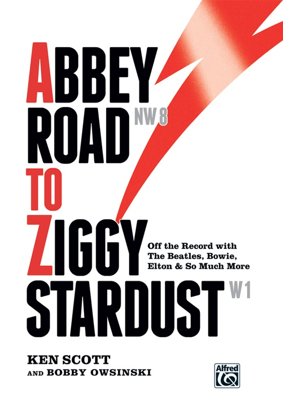 Abbey Road to Ziggy Stardust: Hardcover Book