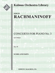Concerto for Piano No. 3 in D minor, Op. 30
