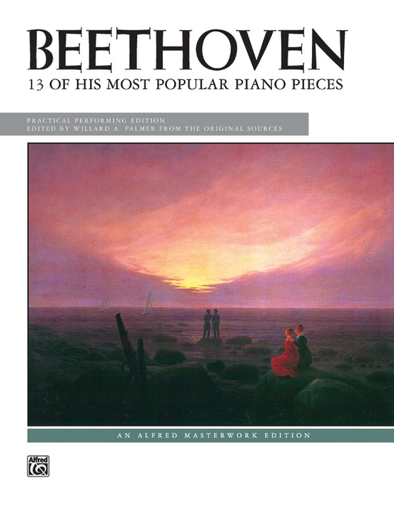 Beethoven, 13 of His Most Popular Piano Pieces
