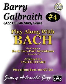 Barry Galbraith Jazz Guitar Study Series #4: Play Along with Bach