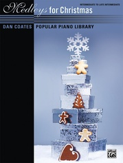 Dan Coates Popular Piano Library: Medleys for Christmas