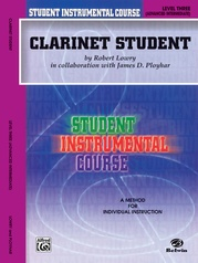 Student Instrumental Course: Clarinet Student, Level III