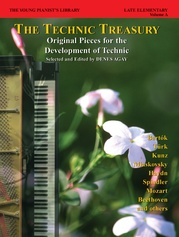 The Young Pianist's Library: The Technic Treasury, Book 8A