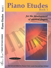 Piano Etudes for the Development of Musical Fingers, Book 1
