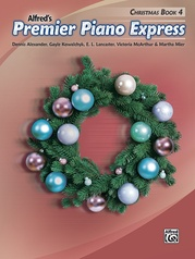 Premier Piano Express Christmas, Book 4