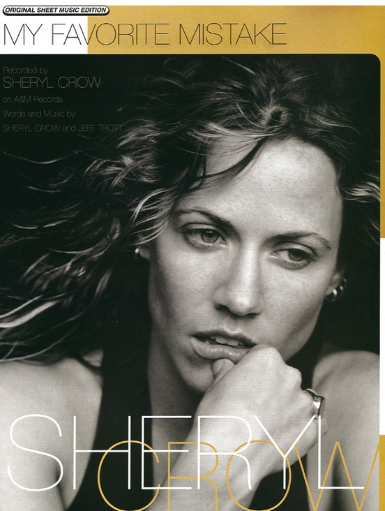 My Favorite Mistake Pianovocalchords Sheet Sheryl Crow