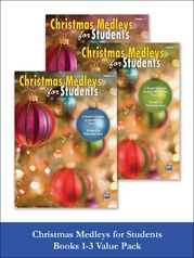 Christmas Medleys for Students, 1-3 (Value Pack)