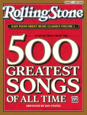 Rolling Stone® Easy Piano Sheet Music Classics, Volume 1