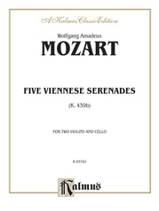 Five Viennese Serenades K. 439b