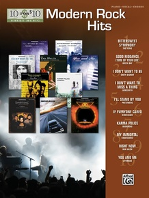 10 for 10 Sheet Music: Modern Rock Hits