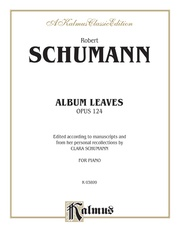 Album Leaves (Albumblätter), Opus 124