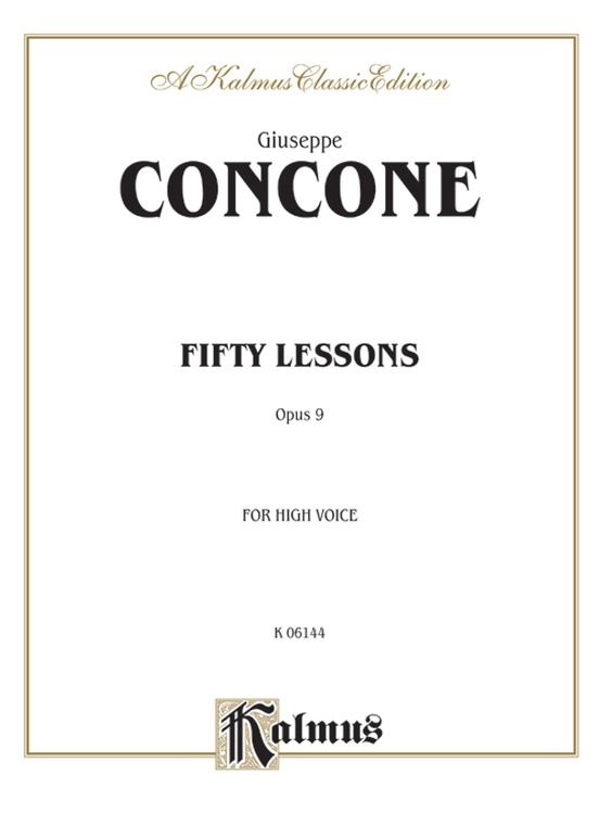 Fifty Lessons, Opus 9