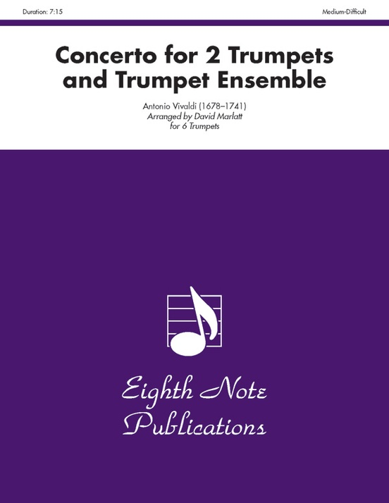 Concerto for 2 Trumpets and Trumpet Ensemble