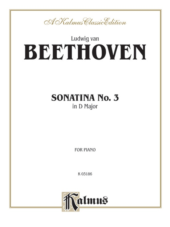 Sonatina No. 3 in D Major