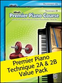 Premier Piano Course, Technique 2A & 2B (Value Pack)